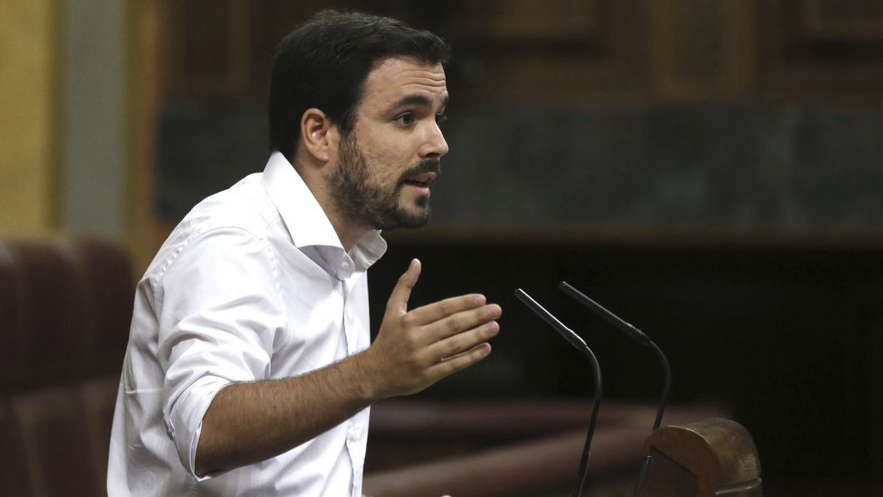 Las caras que pasan más desapercibidas del Gobierno de Rajoy.Gaspar Llamazares
