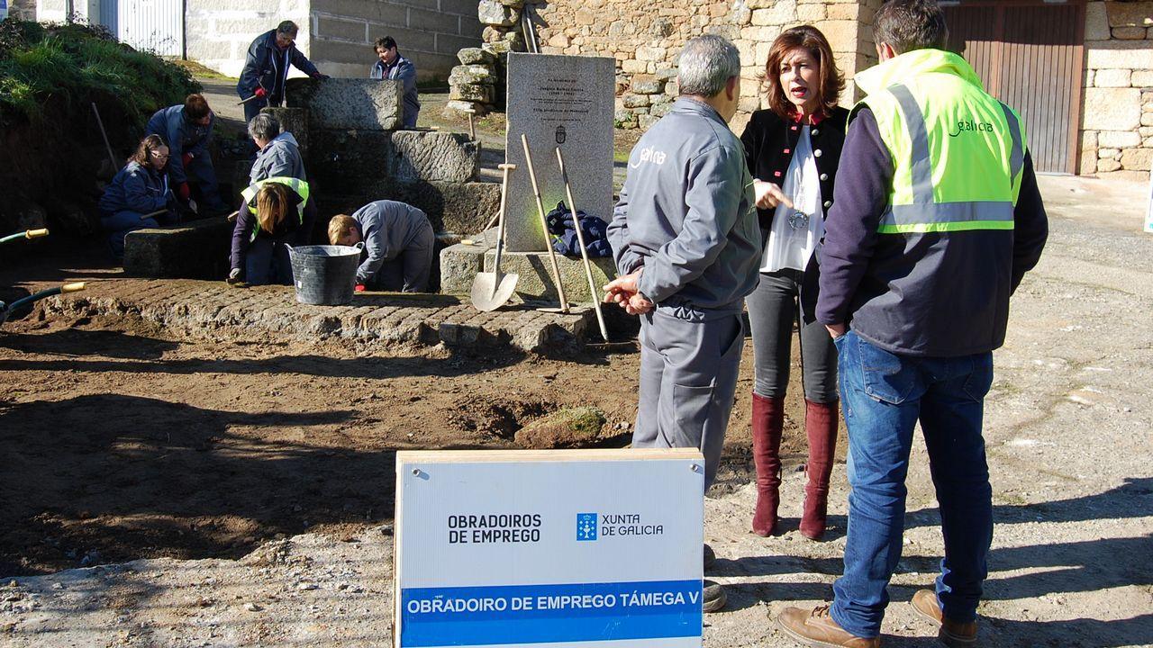 Los coletazos del 8M en Vigo.Las diferentes actuaciones de Fomento para parchear las deficiencias del asfalto hace que algunas actuaciones se solapen con otras