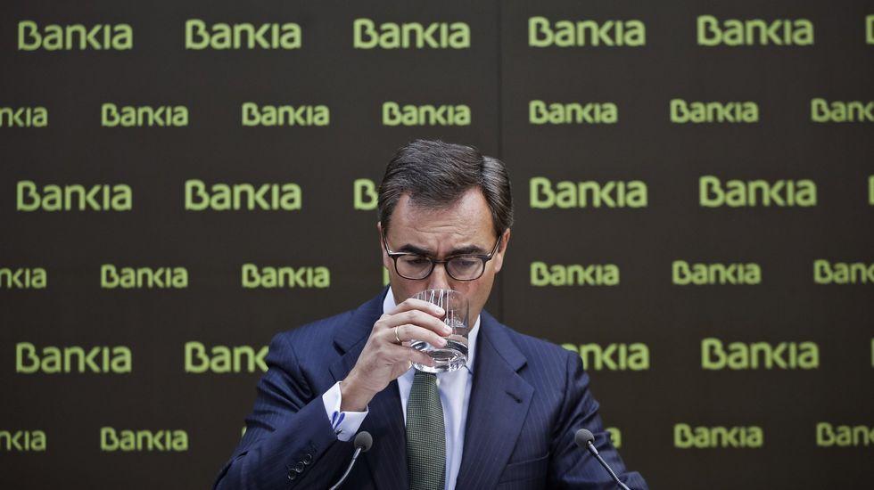 El fiscal del caso de las tarjetas black: «Los españoles sí tienen vela en este entierro».Rodrigo Rato, en una imagen de archivo