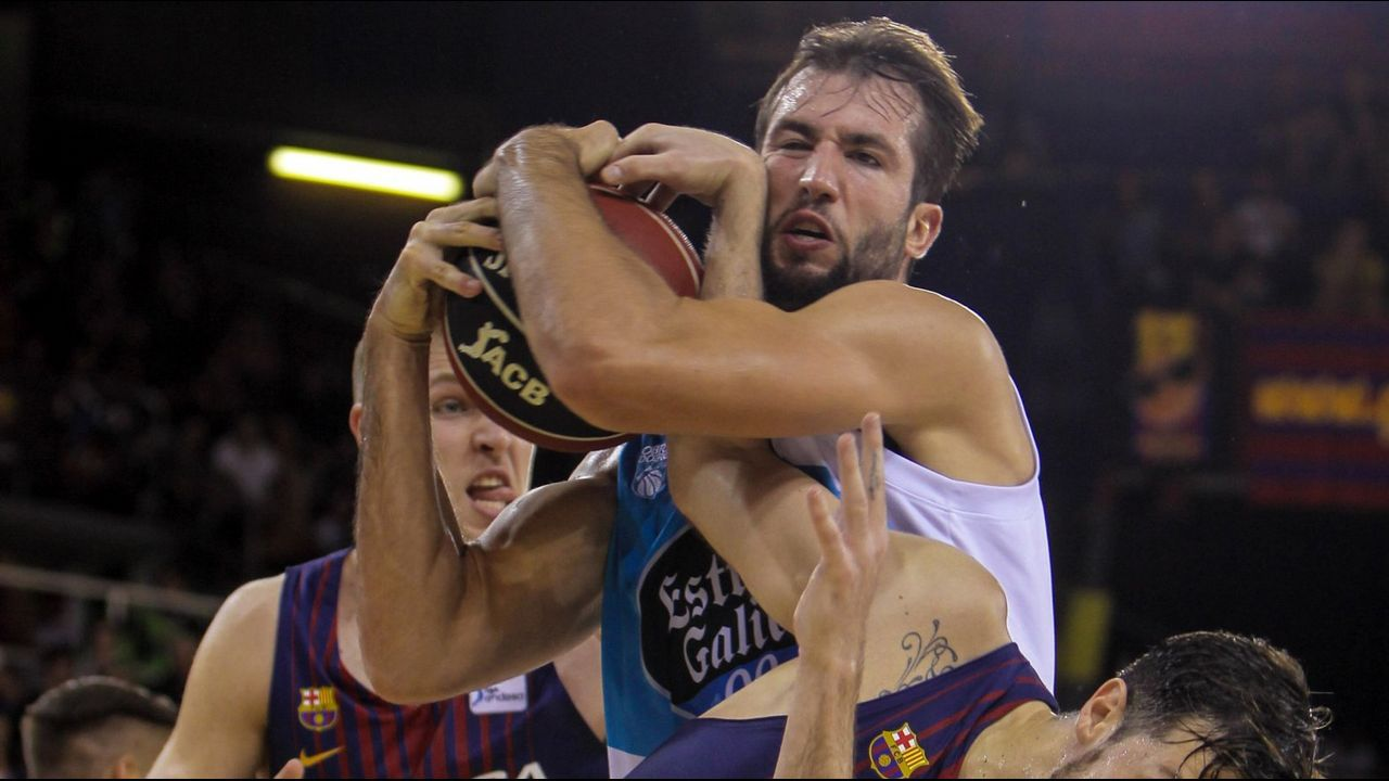 Las imágenes de la derrota de Obradoiro en Burgos