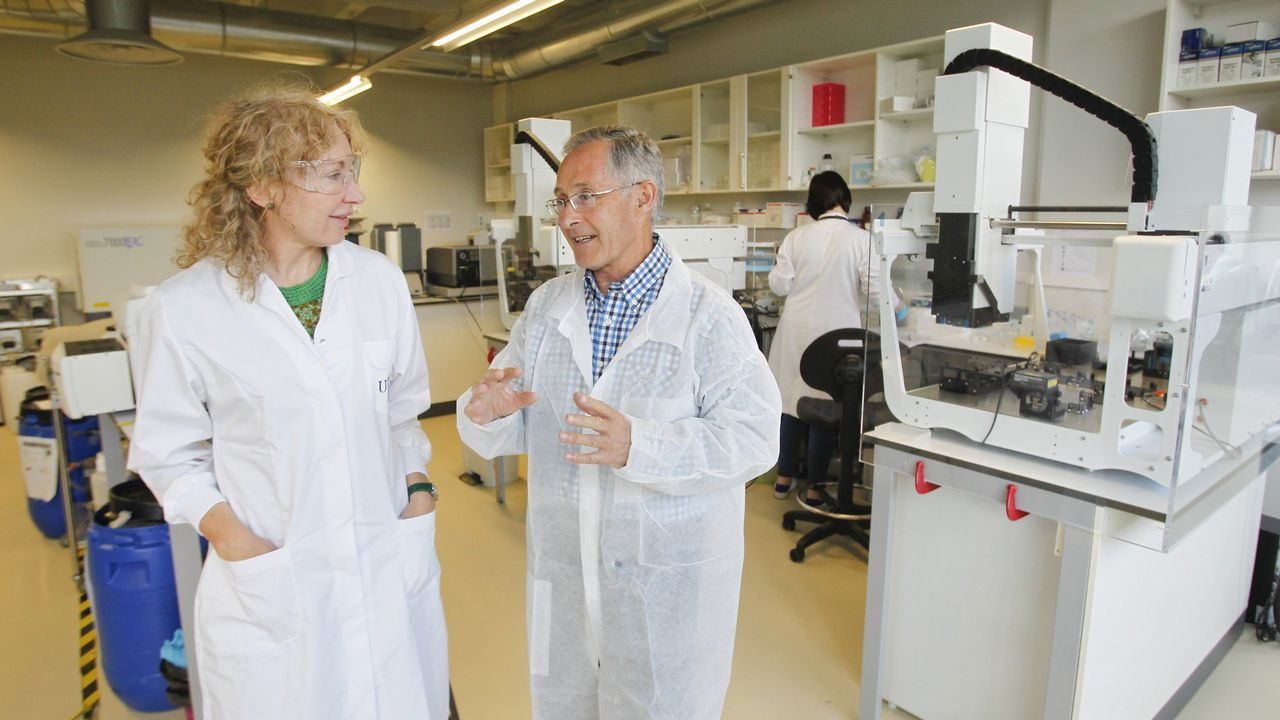 Con los cerebros del banco de Vigo se investiga sobre enfermedades neurodegenerativas