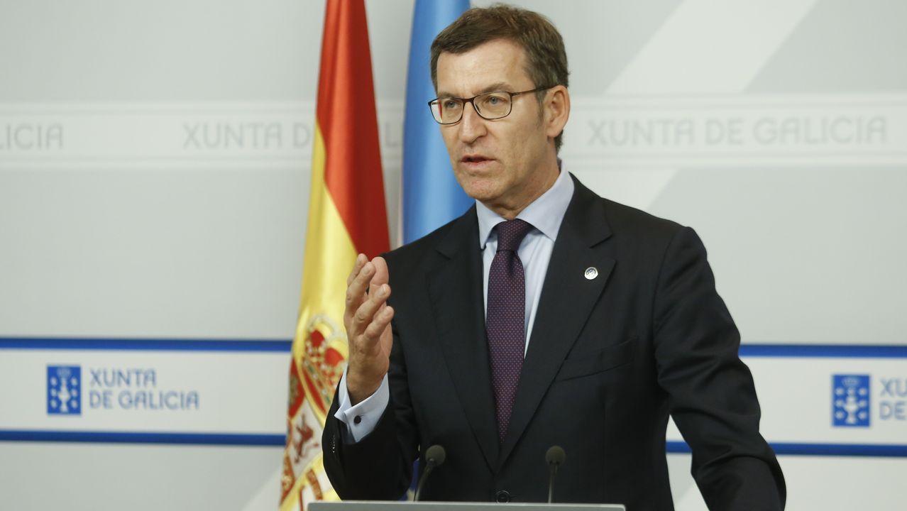 Núñez Feijoo: «Aplicar o no el 155 depende de los independentsitas».