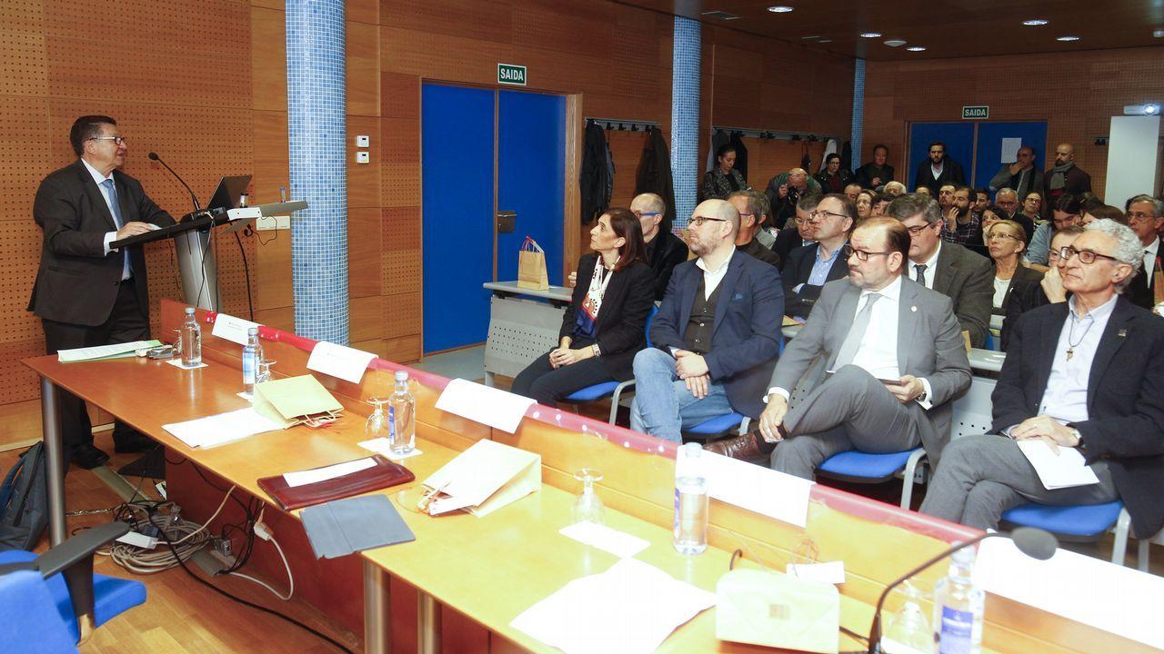 Suso Villar, presidente de Afaber, explicaba recientemente la necesidad de encontrar un local mas grande para que la entidad pueda prestar servicio
