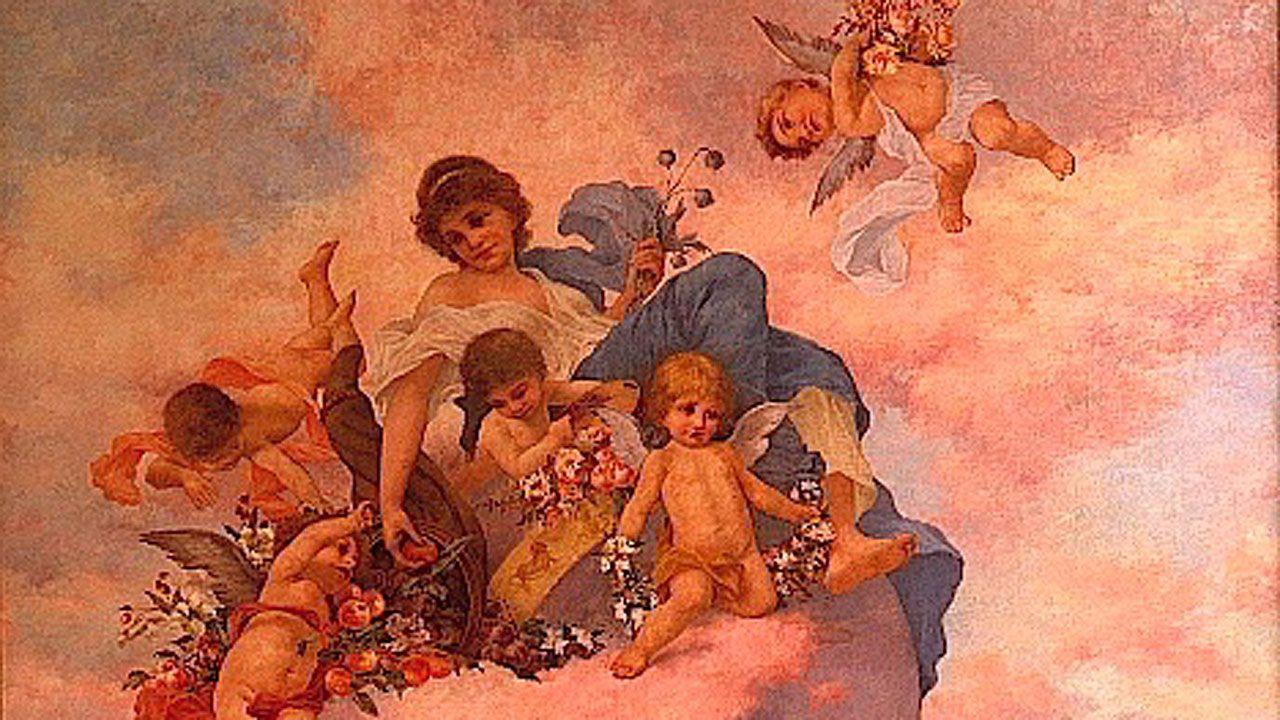 Tomás García Sampedro. Fragmento de «Alegoría del Verano» (1924)