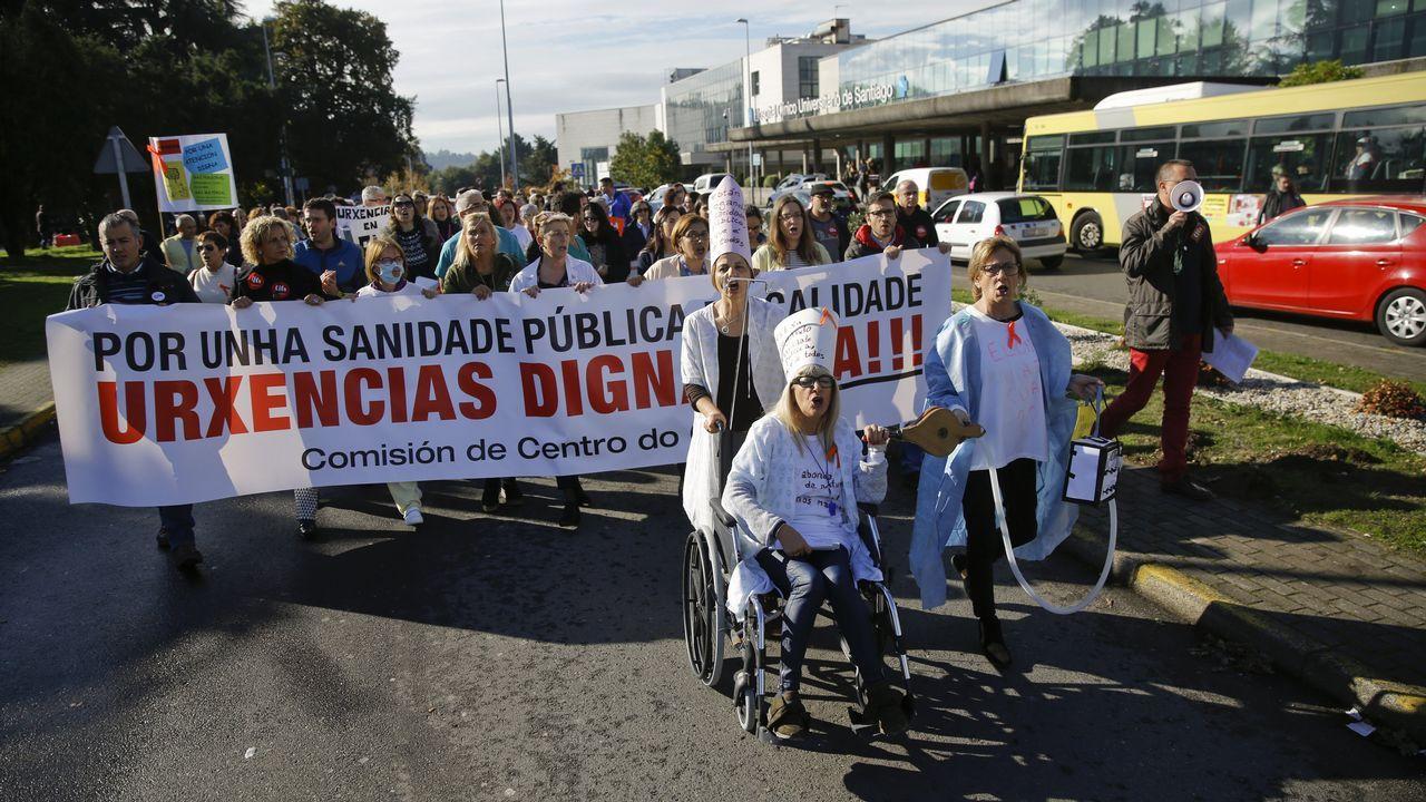 Asamblea de los trabajadores de los supermercados asturianos en Oviedo