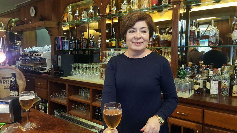 El intento de robo se produjo en un pub situado en la zona de soportales de la calle Duquesa de Alba