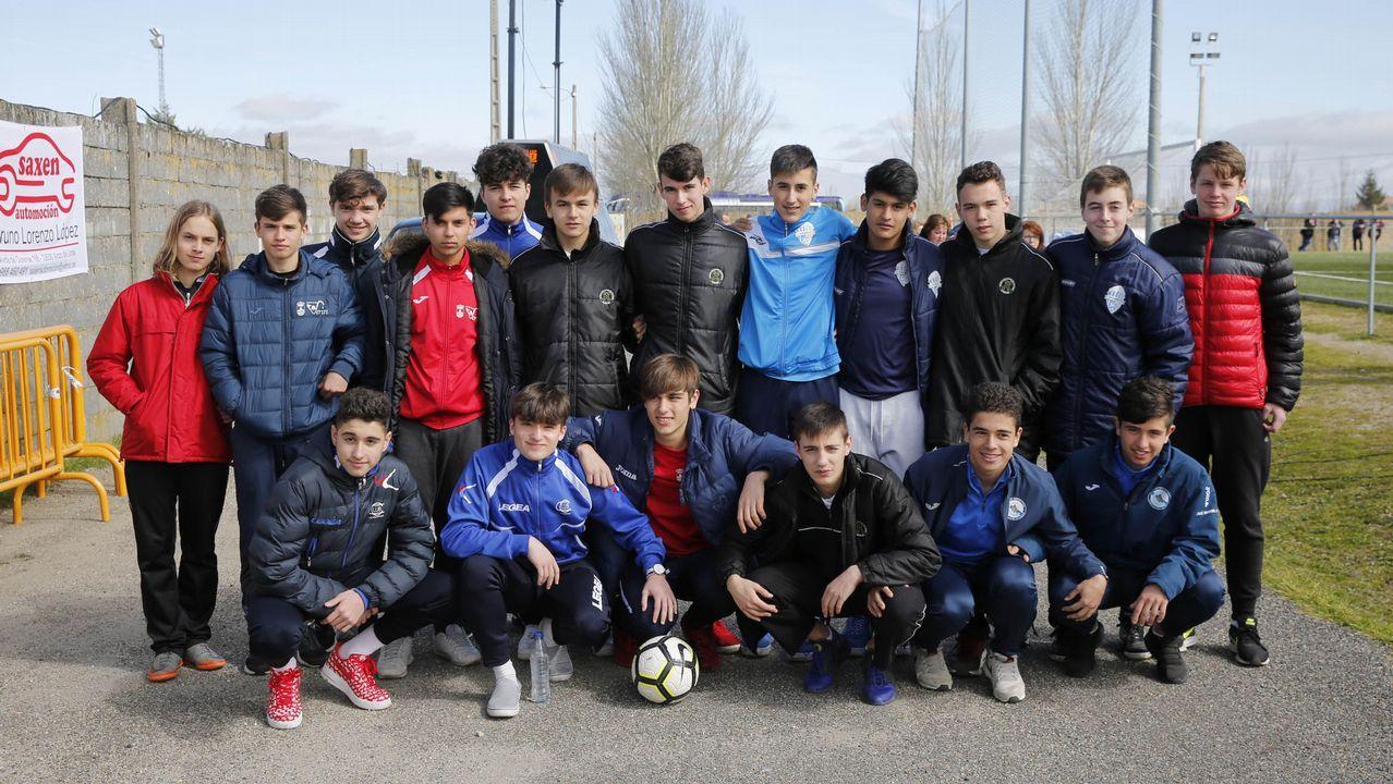 Deporte con la máxima ilusión.El equipo masculino de Ourense