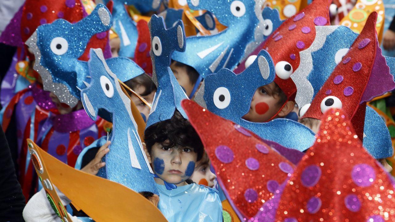 Desfile de carnaval del Colegio Landro.Desfile de carnaval del Colegio Landro