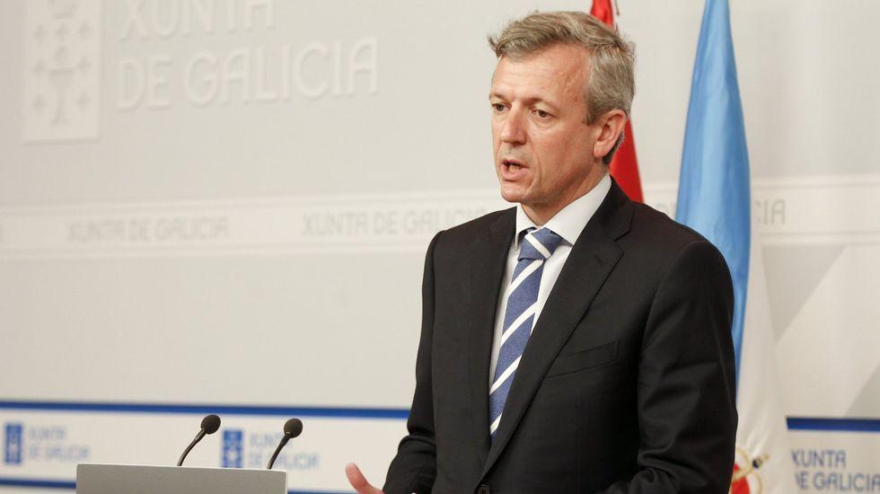 Alfonso Rueda, vicepresidente y conselleiro de Presidencia, Administracións Públicas e Xustiza.