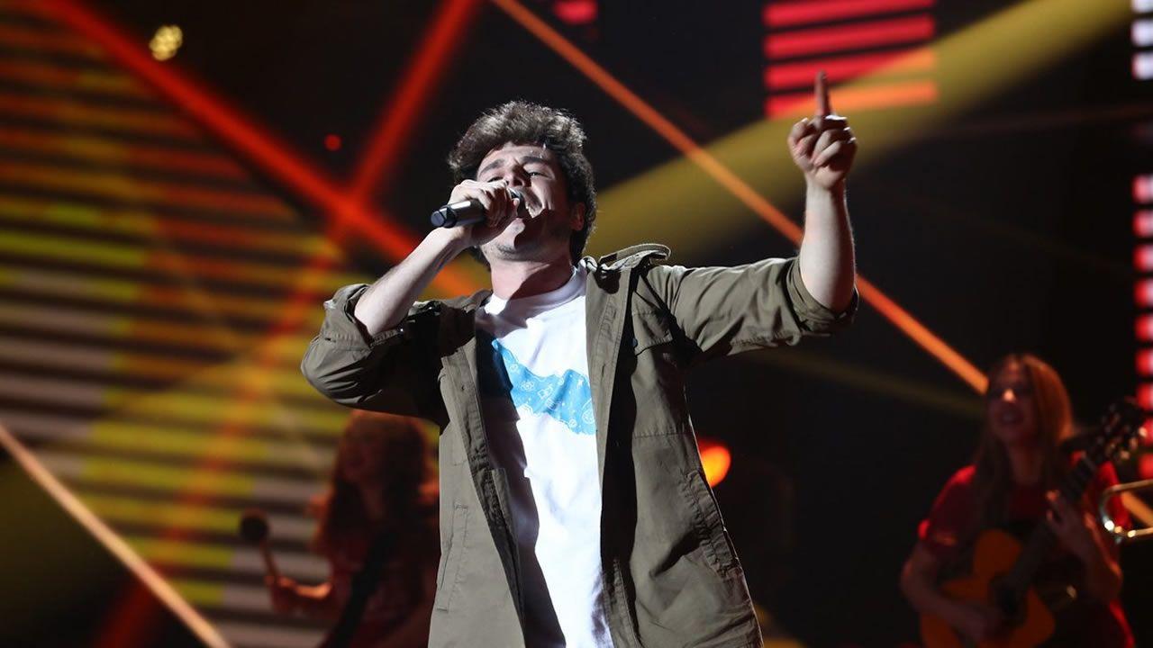 «La venda» representará a España en Eurovisión.Foto de archivo de varios fardos de cocaína incautados por la Policía Nacional