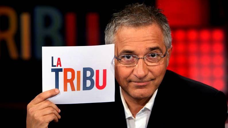 .Javier Sardá en una imagen promocional del programa «La Tribu».
