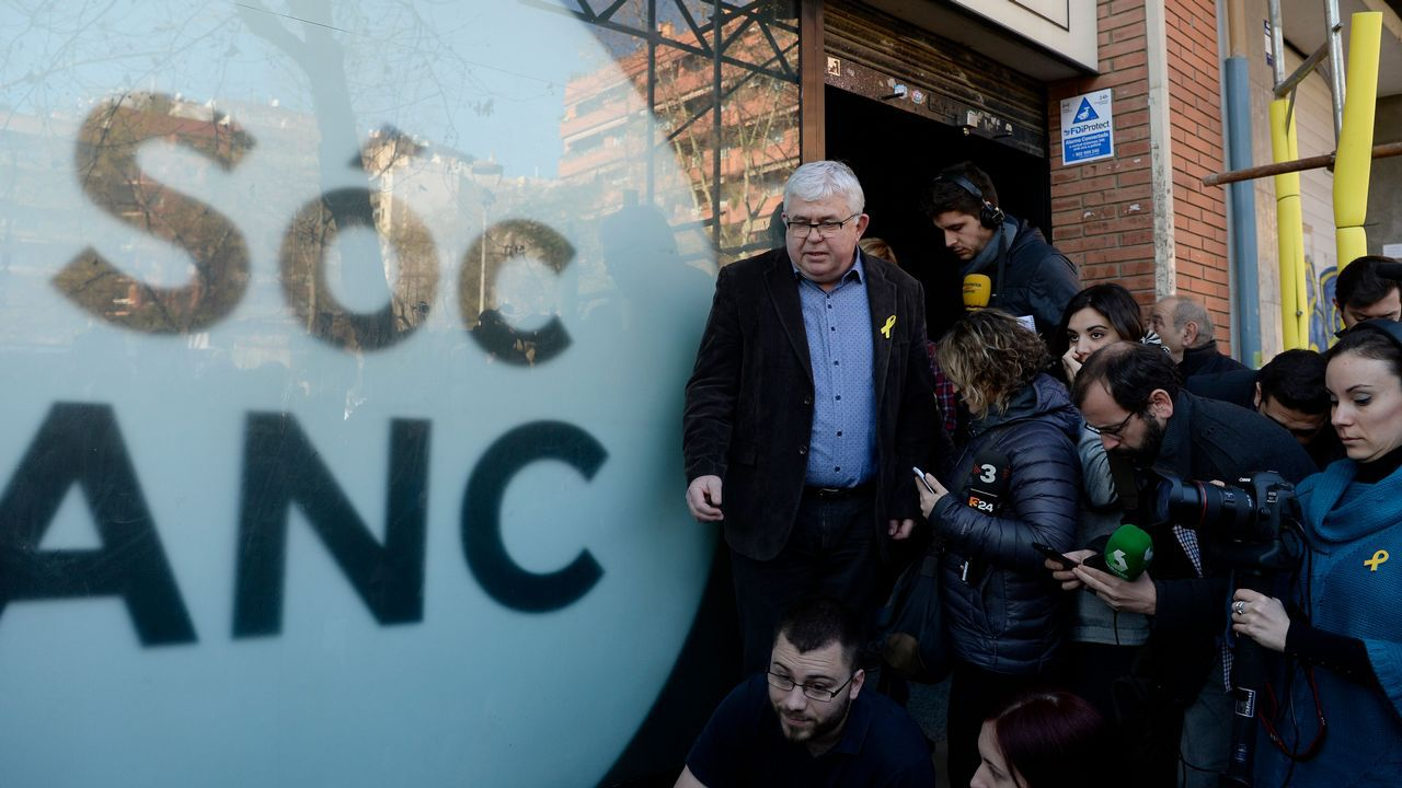 DIputados catalanes huidos a Bruselas