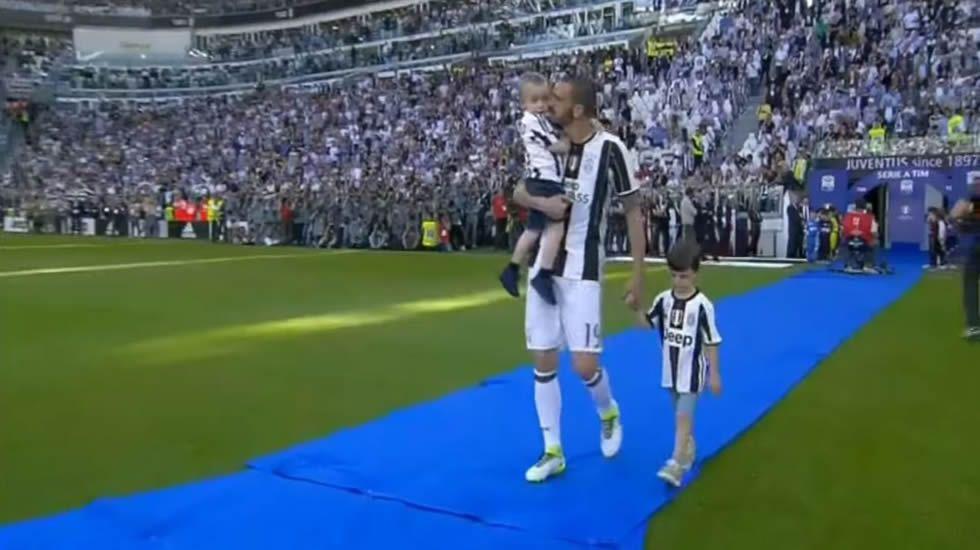 El tierno enfado del hijo de Bonucci por su amor al Torino
