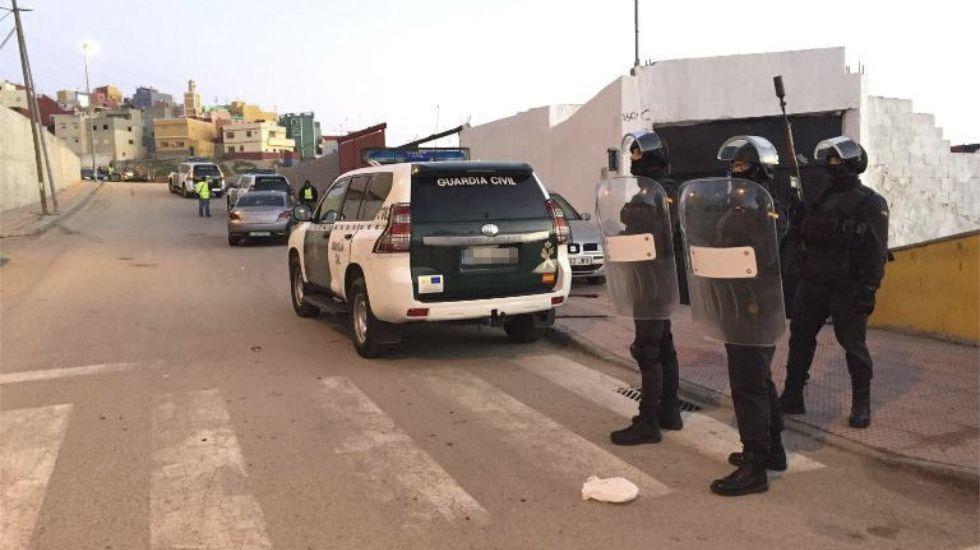 Detenidas en Ceuta dos personas muy radicalizadas afines al Estado Islámico
