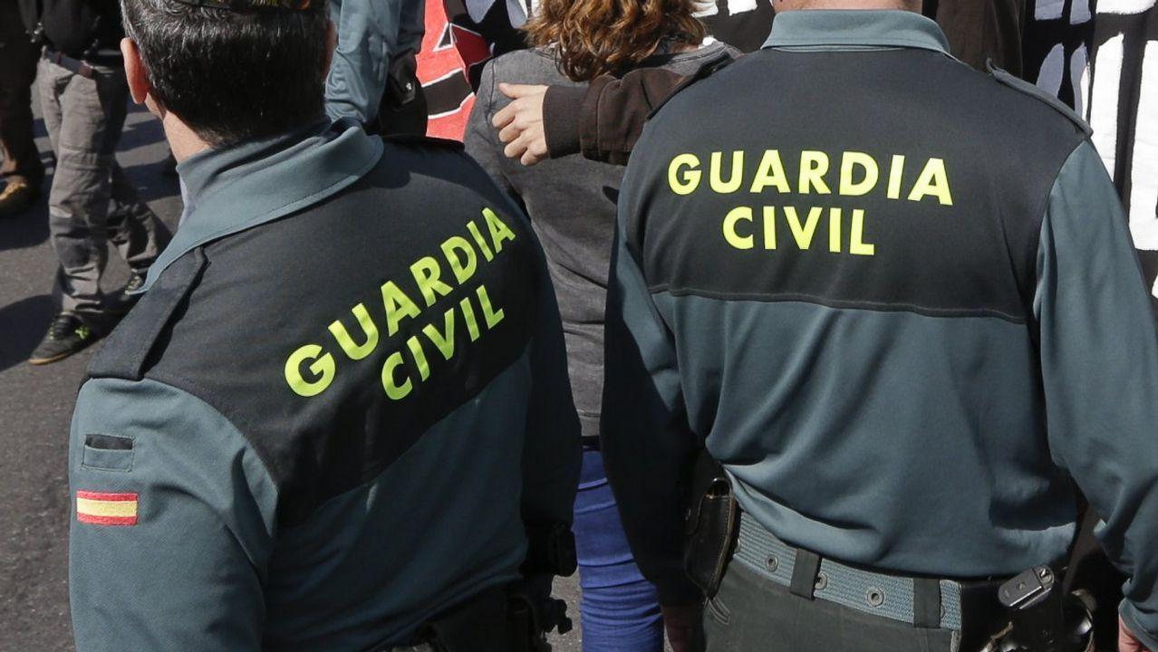 Imagen de recurso de unos agentes de la Guardia Civil.