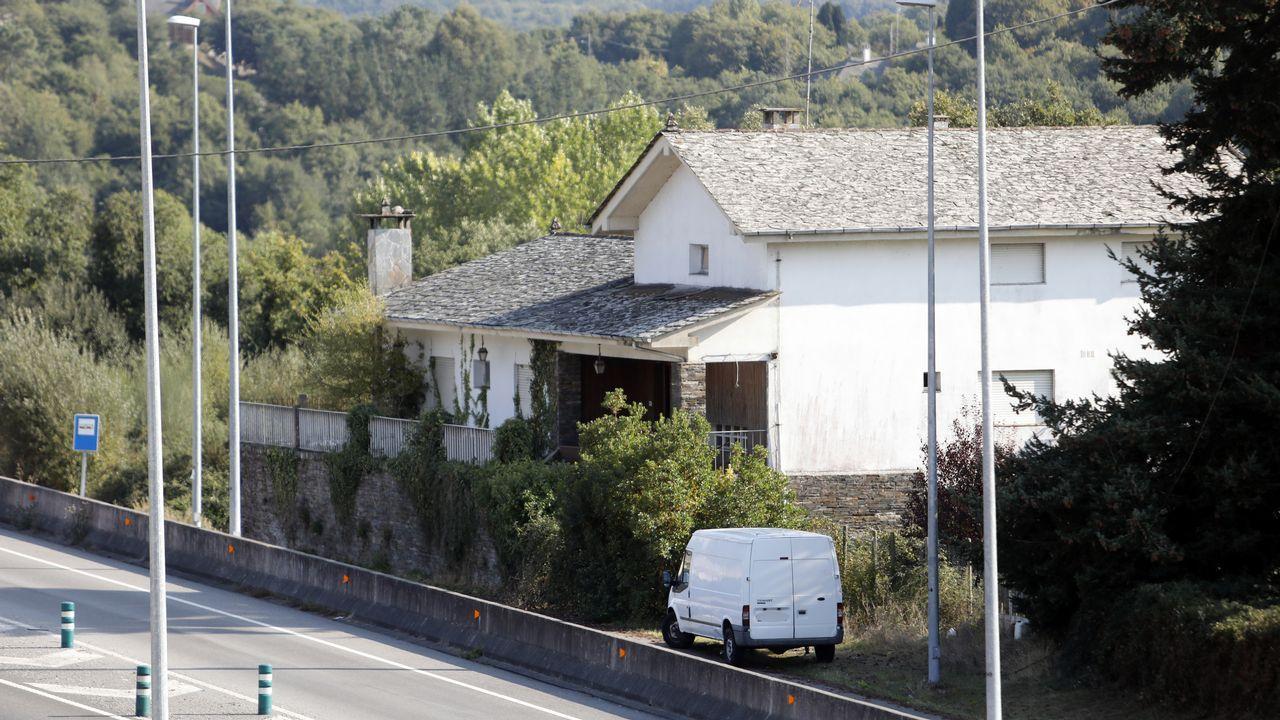 En Fragoselo, en Coruxo, se vivieron momentos de tensión