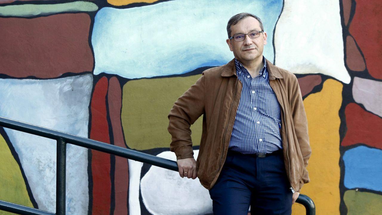 Candidatos y aspirantes del PSdeG para las municipales en las siete ciudades.El portavoz del PSdeG PSOE en el Concello de A Coruña, José Manuel Garcia.