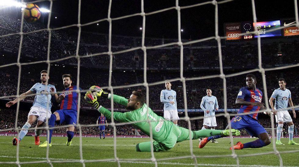 «Si un rival nos hace 4 goles, nosotros podemos hacer 6».Sergi Roberto celebra su histórico gol