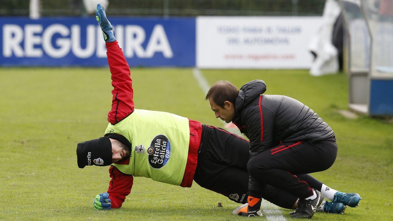 Tejera Real Oviedo Lugo Carlos Tartiere.Dani Giménez apenas ha encajado dos goles en las seis jornadas de la segunda vuelta