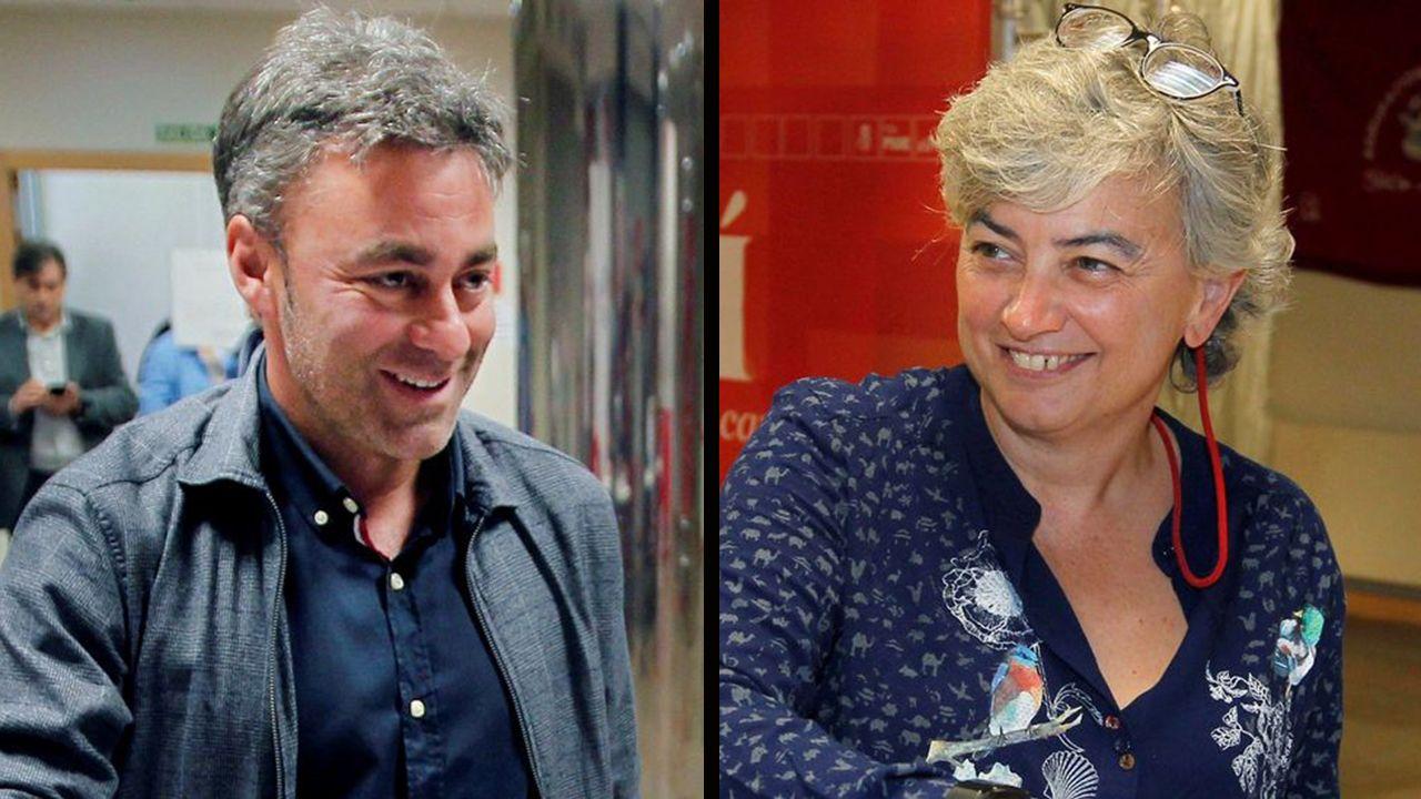 Ana González y Rosé Ramón Tuero