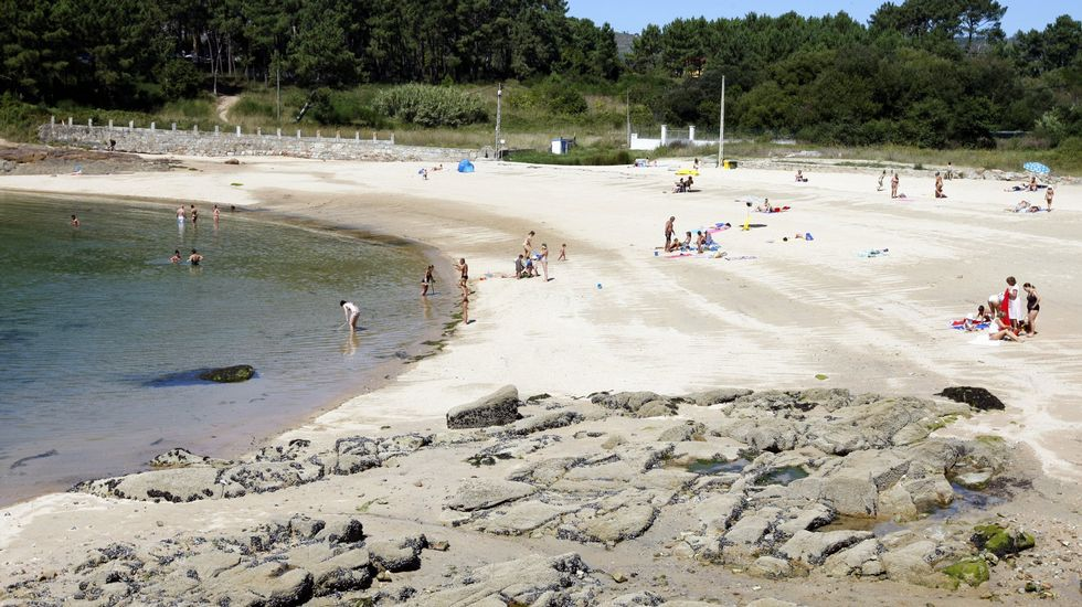 Ribeira. Playa Rio Azor