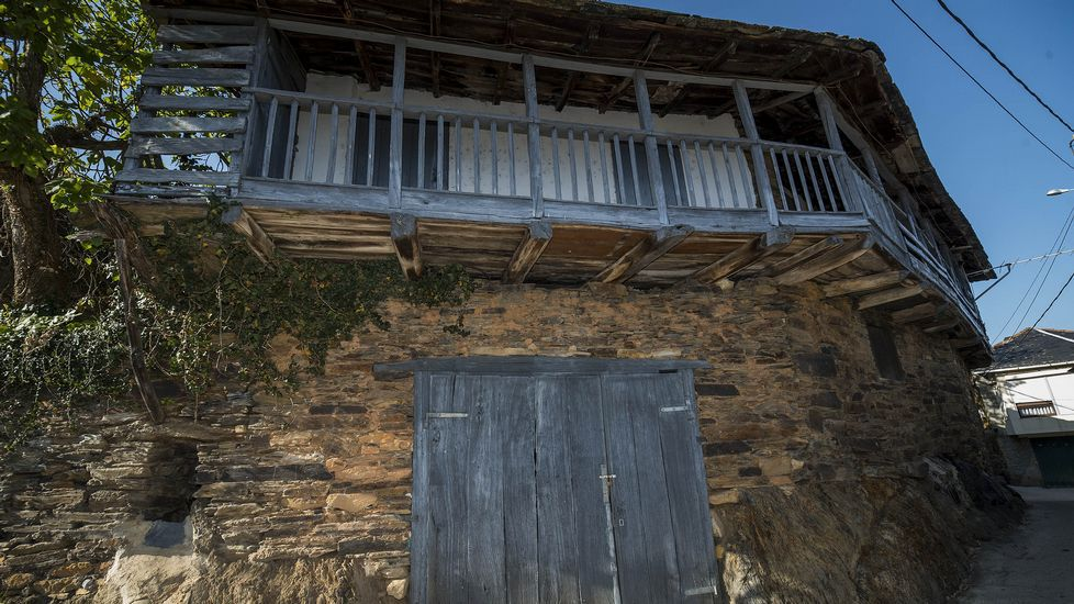 Ruta de Peites. Casa de Roque, antiguo hospital