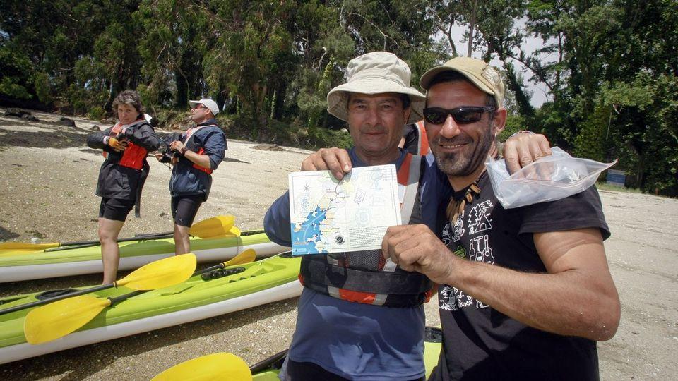 Cortegada se incorpora con éxito a las rutas por mar a Santiago