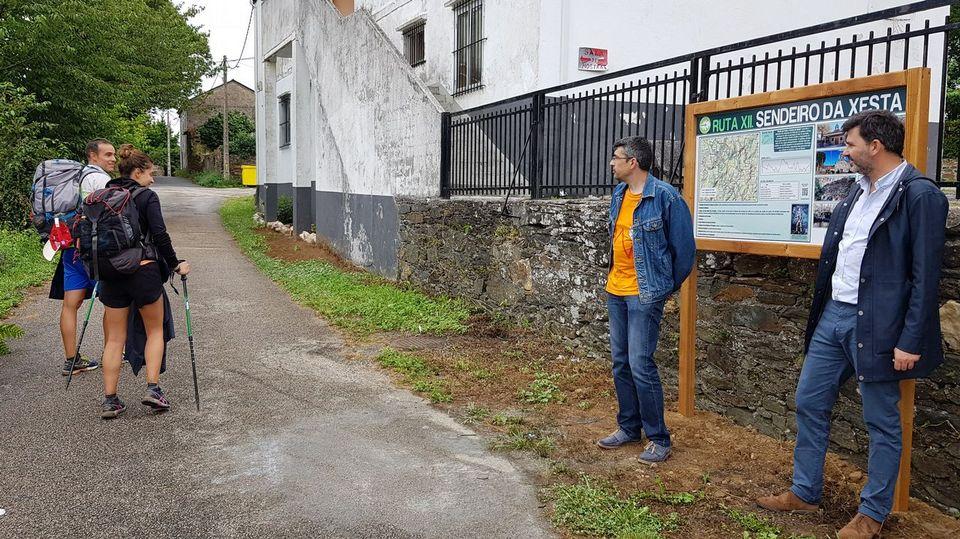 Lalín señaliza la Ruta da Xesta diseñada por Roteiros