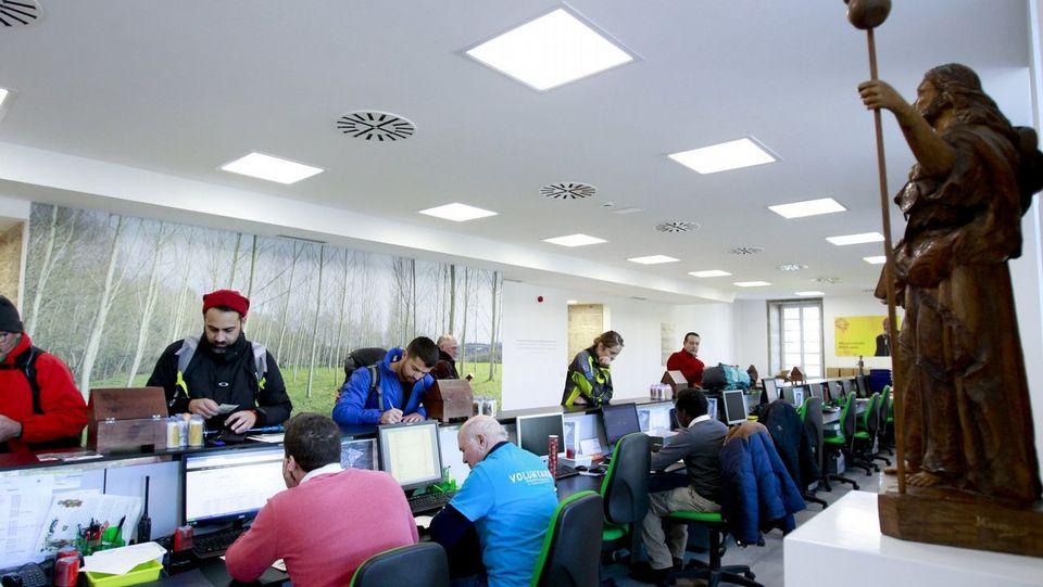 El centro local de interpretación del Camino tuvo más de 12.500 visitantes en el primer semestre