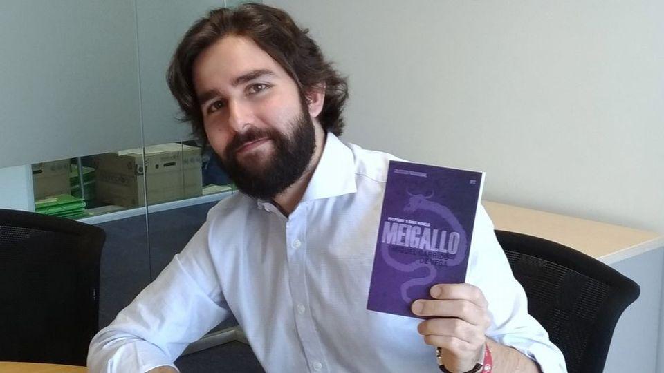 «La novela es una mezcla de terror gótico y cósmico con raíces gallegas»