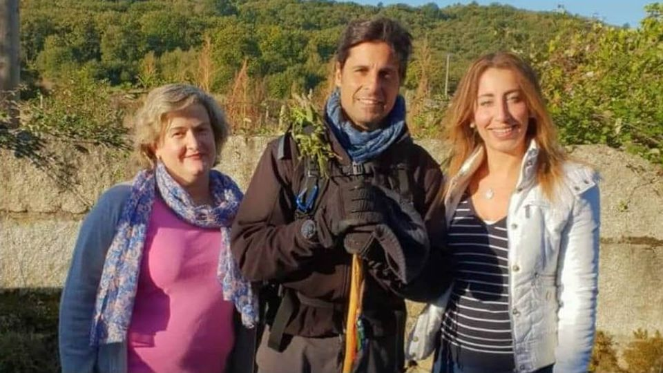 Fran Rivera pasa por Ourense como peregrino