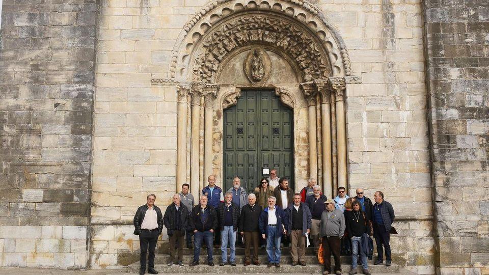 Periodistas en el Camino de Santiago