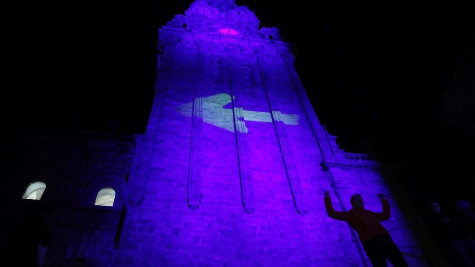 La Berenguela ilumina el 25 aniversario del Camino Francés