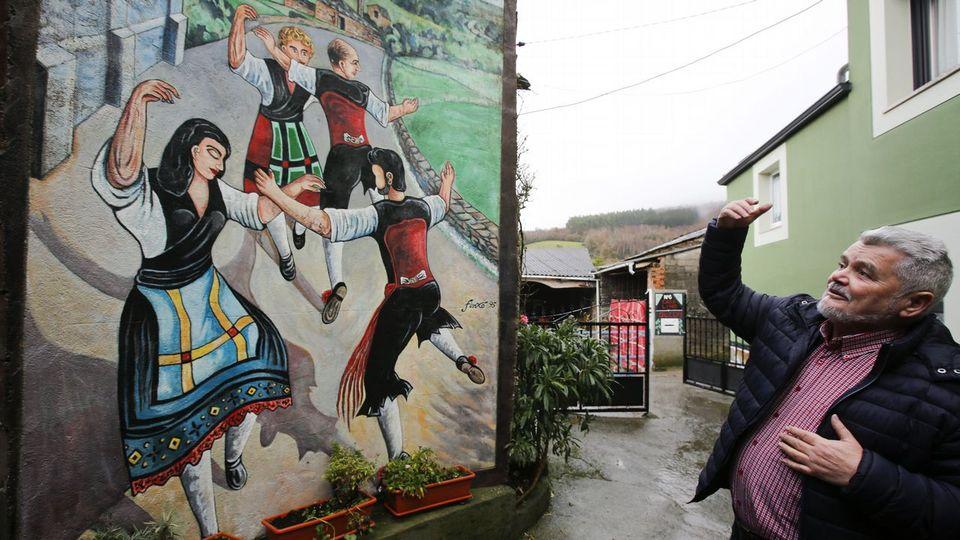 Monseiro, siete murales para un pueblo