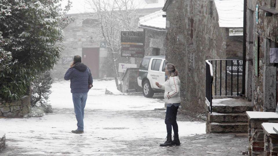 Llega la nieve a<span lang=