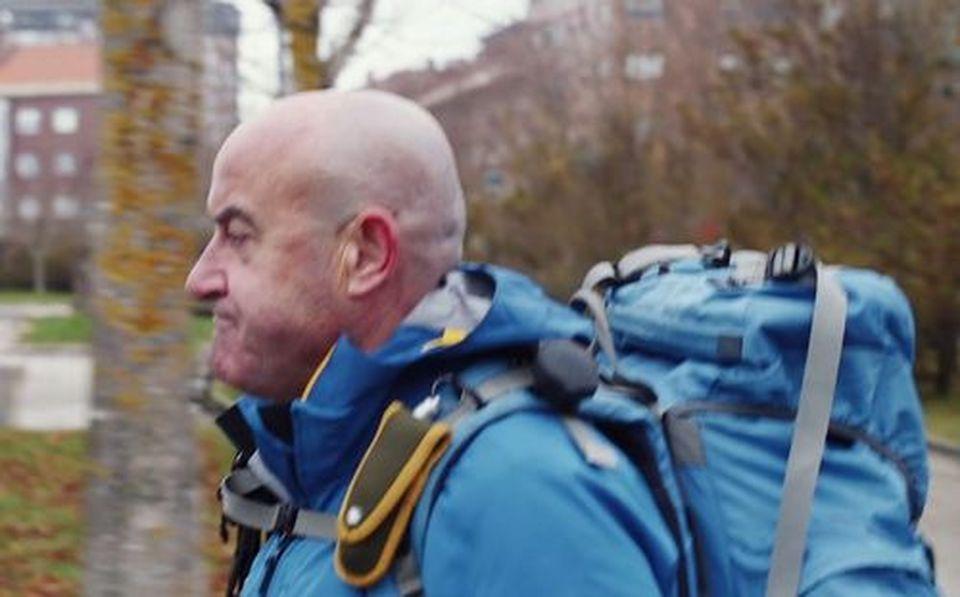 De Roma a Santiago a pie para visibilizar el daño cerebral adquirido