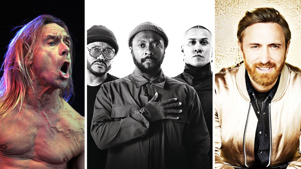 The Black Eyed Peas, David Guetta e Iggy Pop actuarán en O Son do Camiño