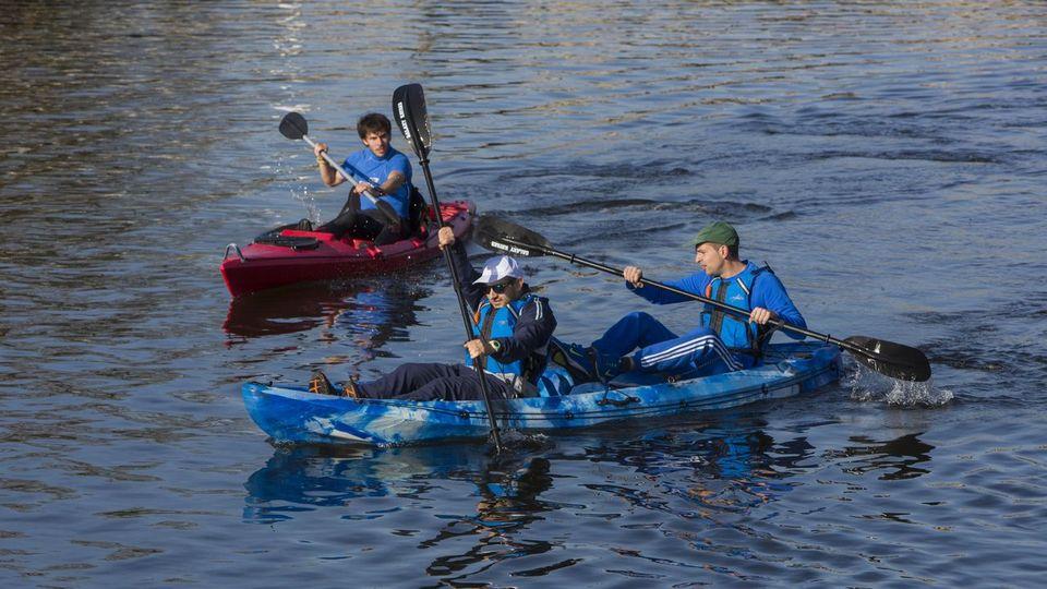 Tui será puerto de salida para peregrinos en kayak