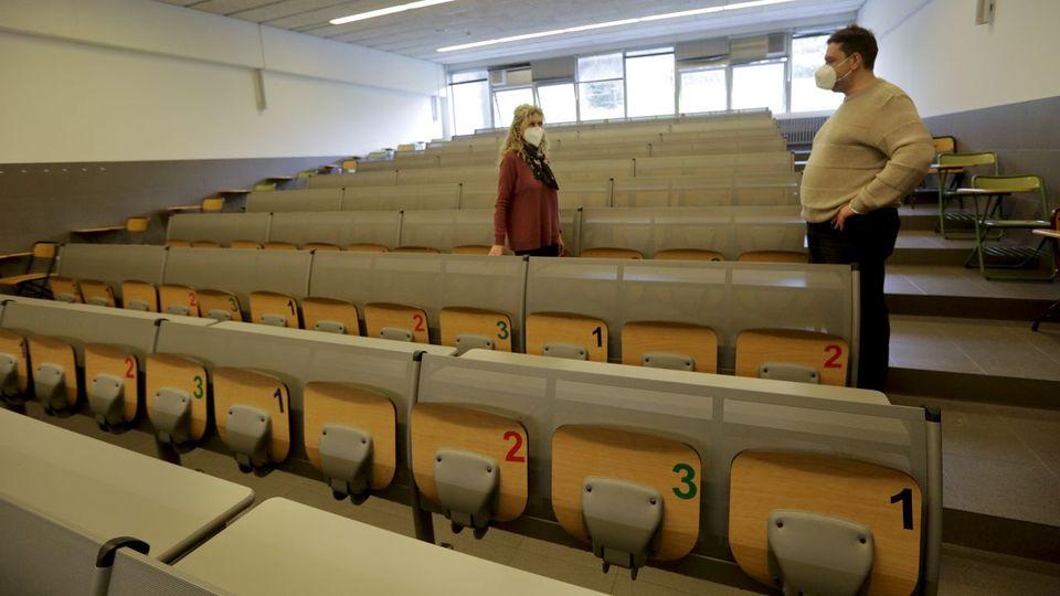Recuperar las clases prácticas, gran reto ante la vuelta al aula universitaria