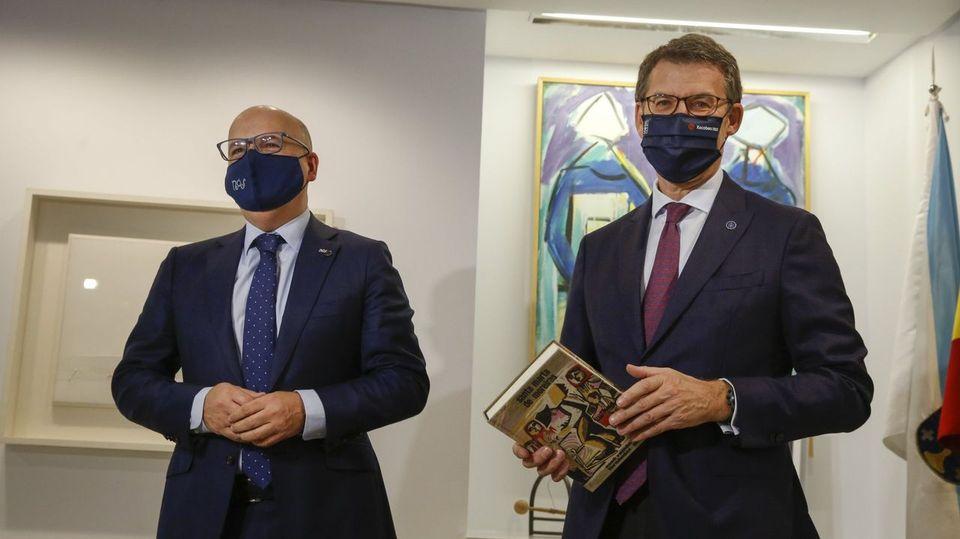 Baltar asegura que no ve a Feijoo dando el saltoa la política nacional