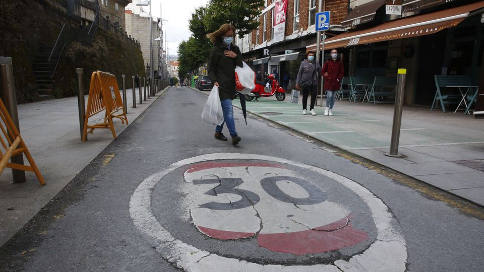 Pontevedra: diez años a 30 por hora, diez años sin víctimas mortales