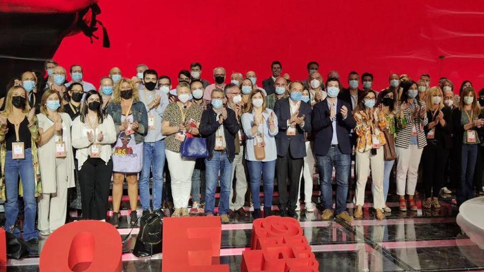 Caballero y Formoso consiguen colocar cada uno dos nombres en el comité federal del PSOE