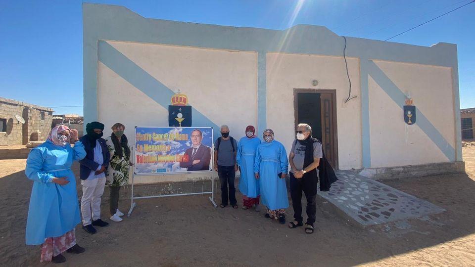 Dan el nombre de Valeriano Martínez a un centro contra el cáncer de mama en los campamentos saharauis