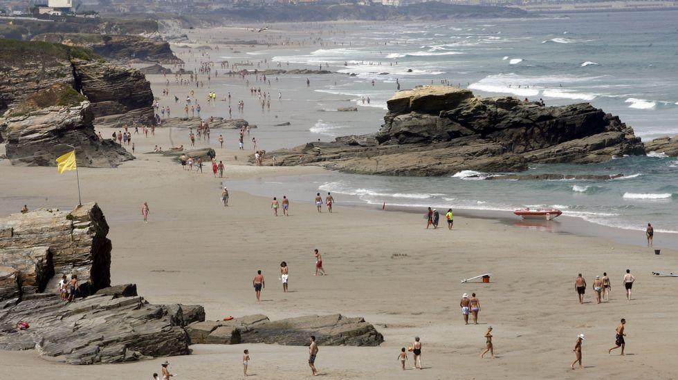 Barreiros. Playa de Lóngara