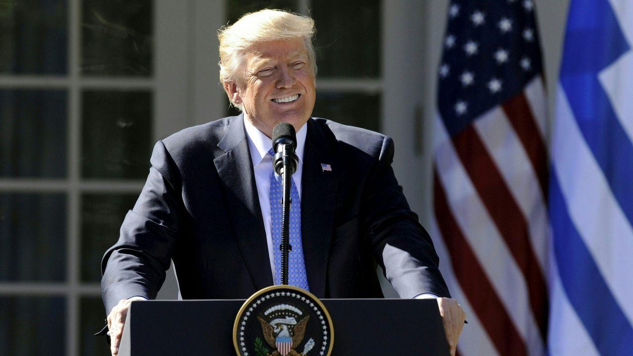 La detención se produjo horas antes de que Trump partiese en viaje oficial a Asia