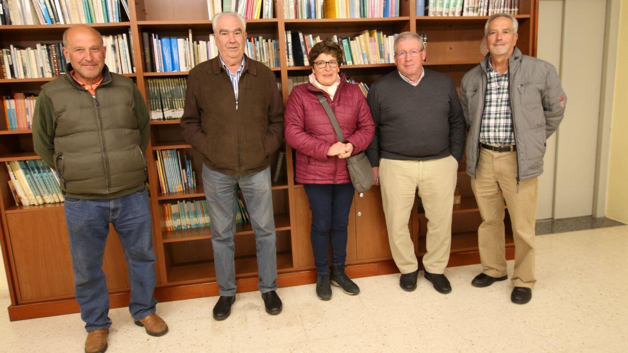 Reunión entre los representantes de la Xunta y los responsables de la red transeuropea.