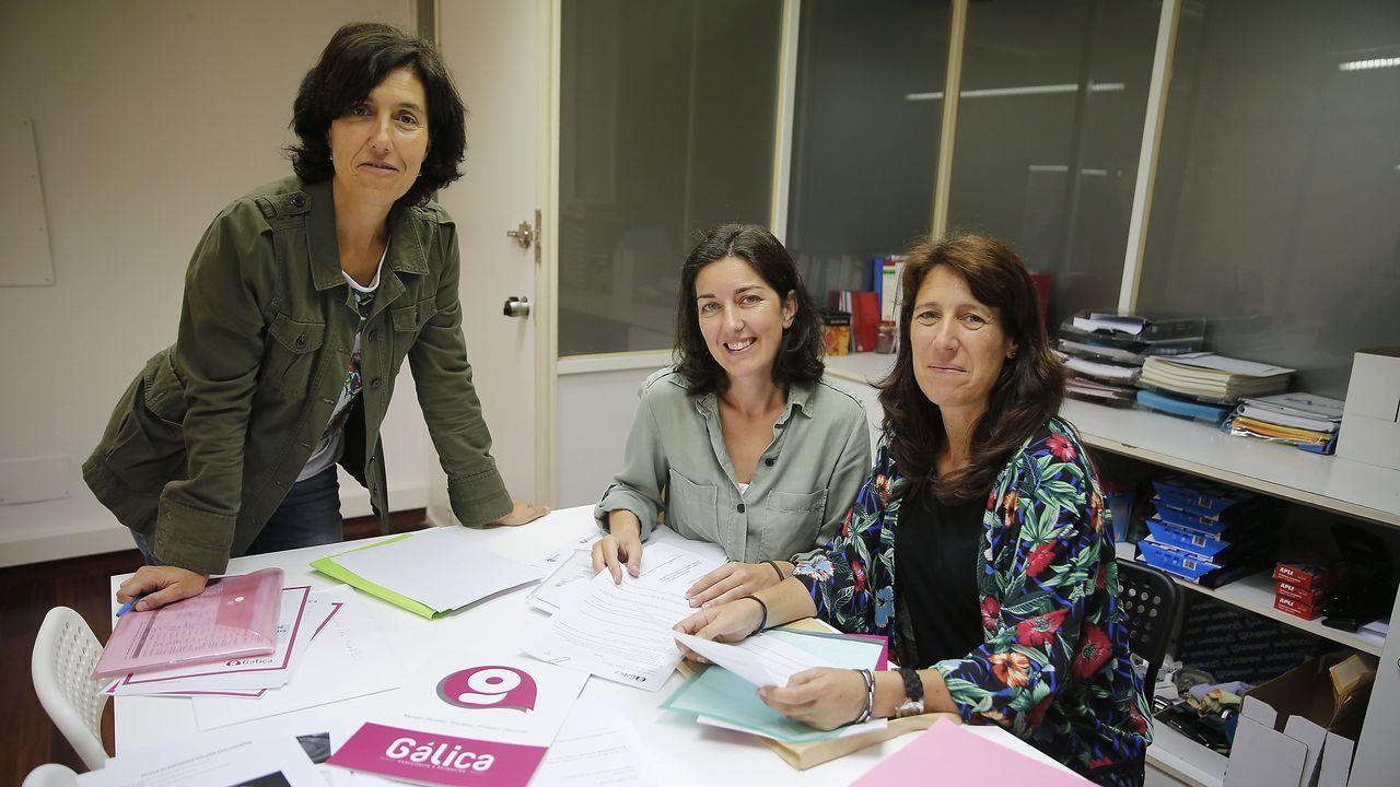 Junta de accionistas de Inditex.Mónica, Fátima y Victoria se asociaron tras cerrar su anterior empresa