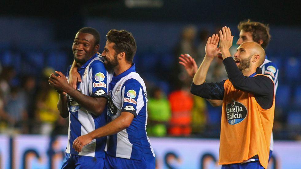 Las mejores fotos del Villarreal-Deportivo.