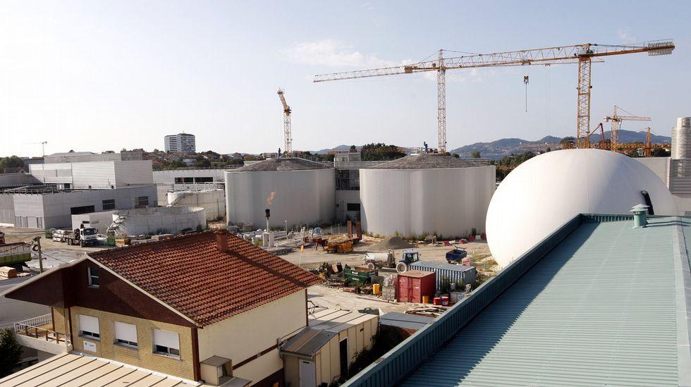 .Construcción de la nueva depuradora de Vigo