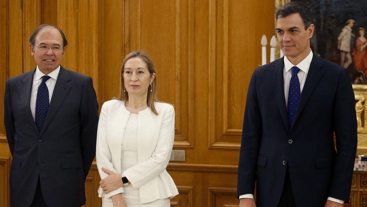 Carmen Montón promete su cargo como ministra de Sanidad del Gobierno